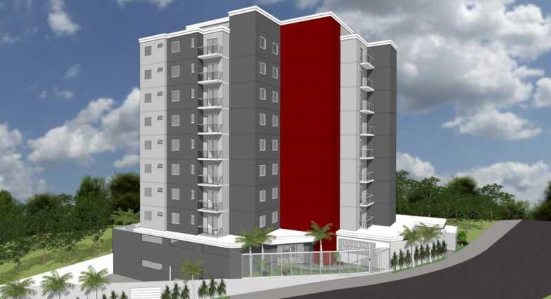 Fachada  - Apartamento Lançamento Itatiba Hill Alta Vista Itatiba, Loteamento Morrão Da Força, SP, À Venda, 2 Quartos, 50m² - FCAP20785 - 1