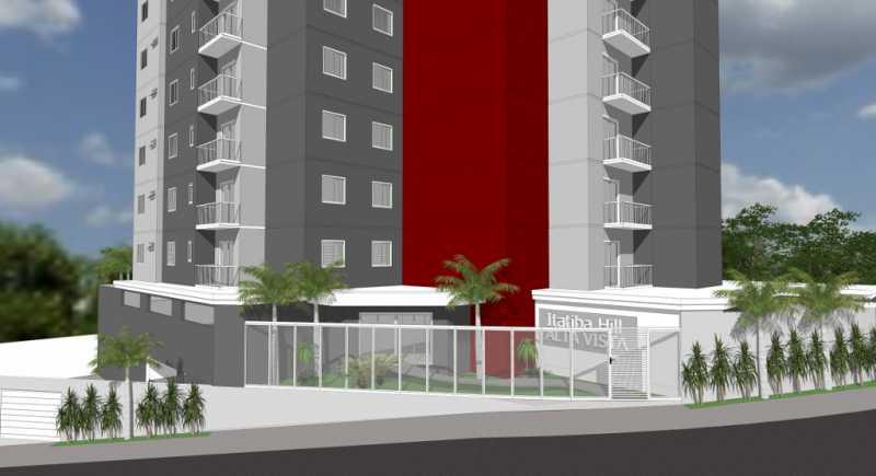 Portaria  - Apartamento Lançamento Itatiba Hill Alta Vista Itatiba, Loteamento Morrão Da Força, SP, À Venda, 2 Quartos, 50m² - FCAP20785 - 3