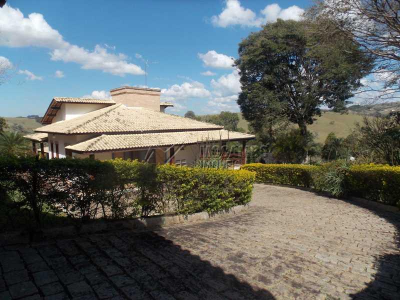 Área externa - Casa em Condomínio 7 quartos à venda Itatiba,SP - R$ 2.500.000 - FCCN70008 - 1