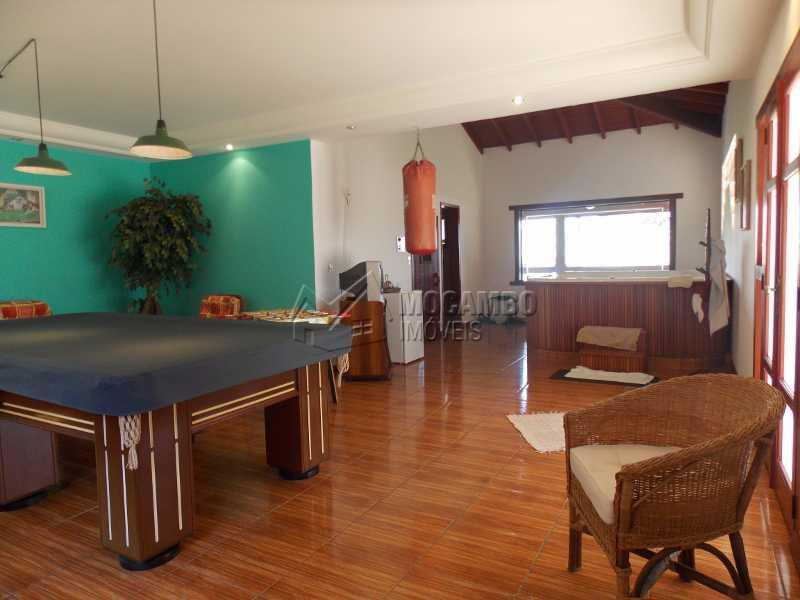 Sala de jogos - Casa em Condomínio 7 quartos à venda Itatiba,SP - R$ 2.500.000 - FCCN70008 - 4