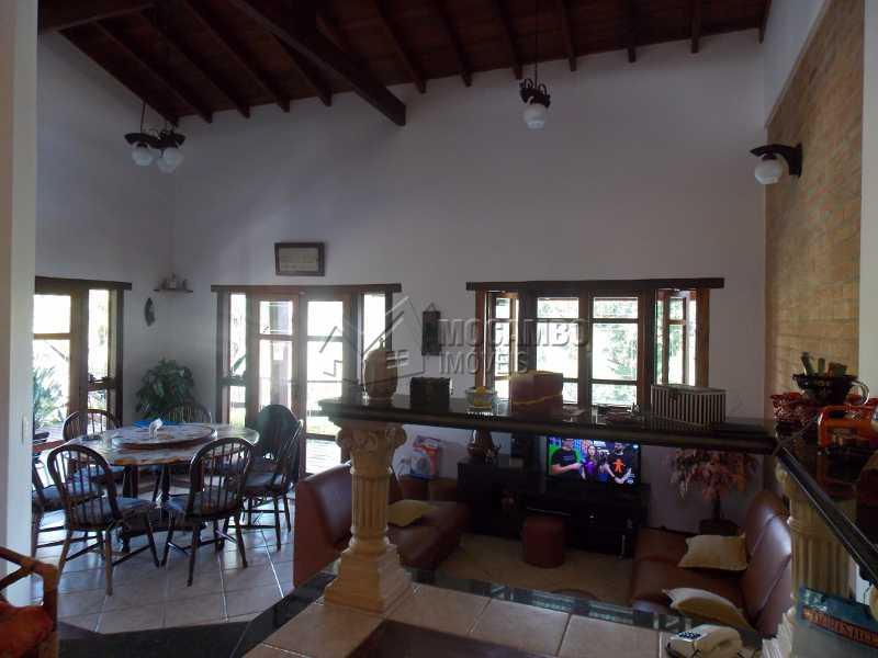 Sala de estar - Casa em Condomínio 7 quartos à venda Itatiba,SP - R$ 2.500.000 - FCCN70008 - 22