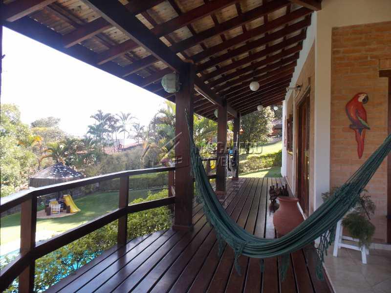 Varanda - Casa em Condomínio 7 quartos à venda Itatiba,SP - R$ 2.500.000 - FCCN70008 - 24