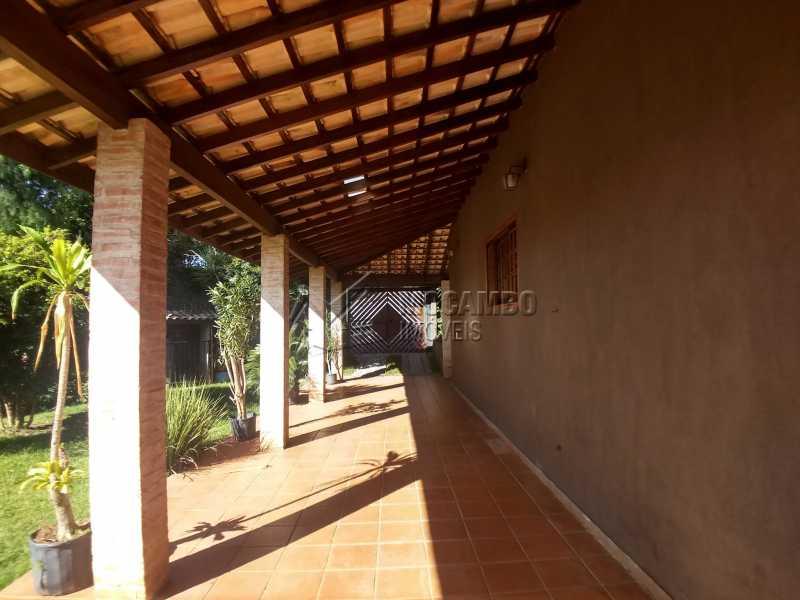 Garagem - Chácara 1290m² à venda Itatiba,SP - R$ 850.000 - FCCH30103 - 3