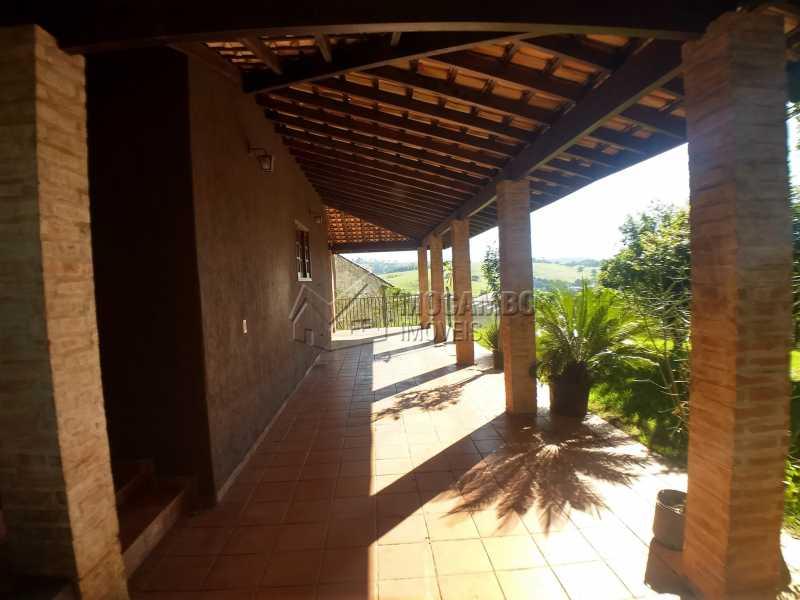 Garagem - Chácara 1290m² à venda Itatiba,SP - R$ 850.000 - FCCH30103 - 4