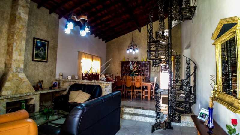 Sala com Lareira - Casa À Venda - Giardino D´ Itália - Itatiba - SP - FCCA31111 - 10