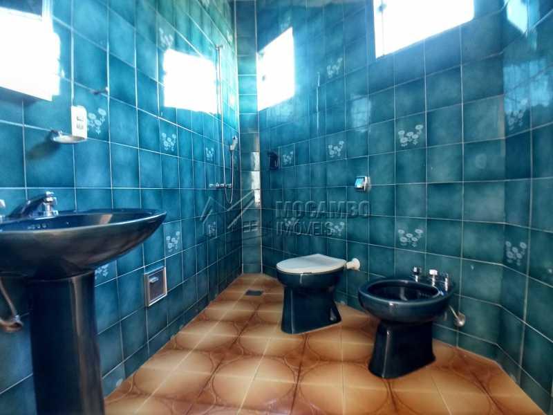 Banheiro Casa de Apoio - Casa em Condominio Para Alugar - Itatiba - SP - Bairro do Engenho - FCCN40116 - 22