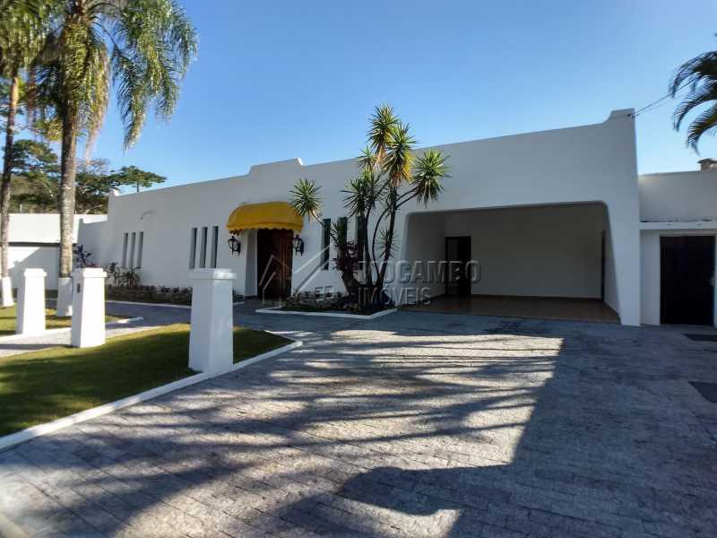 Fachada - Casa em Condominio Para Alugar - Itatiba - SP - Bairro do Engenho - FCCN40116 - 1