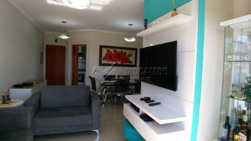 Edifício Giardino - Apartamento Condomínio Edifício Giardino, Avenida Brasília,Itatiba, Jardim Ipê, SP À Venda, 2 Quartos, 80m² - FCAP20796 - 1