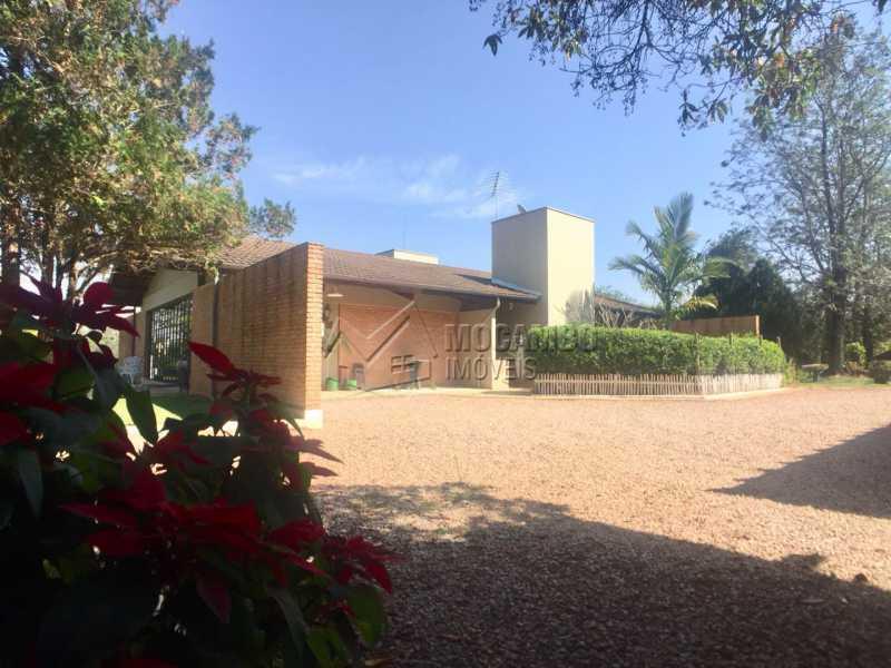 Quintal  - Casa em Condomínio 5 quartos à venda Itatiba,SP - R$ 1.100.000 - FCCN50024 - 13