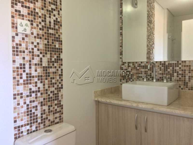 Banheiro - Apartamento Condomínio Edifício Panorama, Rua Augusto Cioffi,Itatiba, Centro, SP À Venda, 3 Quartos, 118m² - FCAP30448 - 12