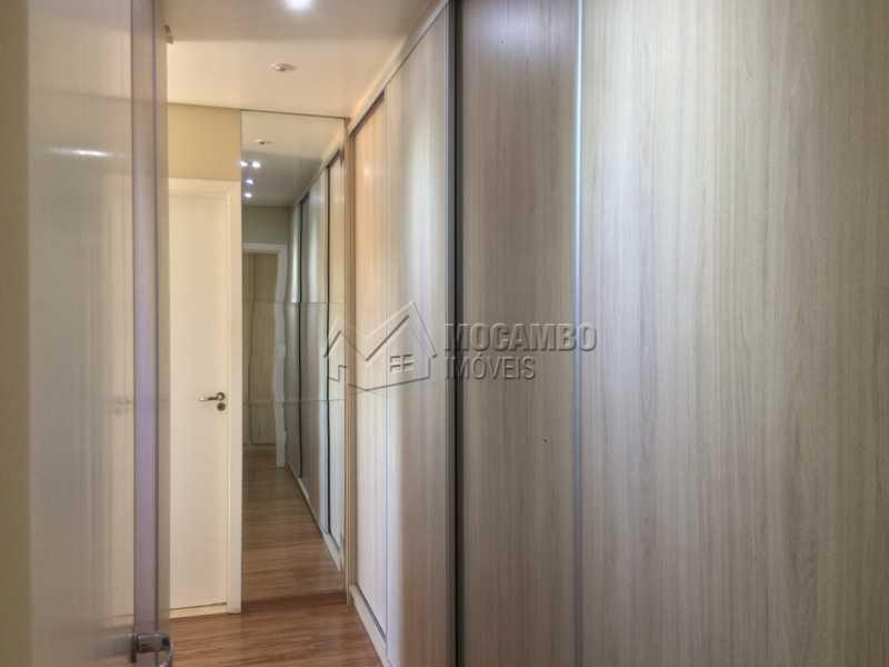 Closet - Apartamento Condomínio Edifício Panorama, Rua Augusto Cioffi,Itatiba, Centro, SP À Venda, 3 Quartos, 118m² - FCAP30448 - 13