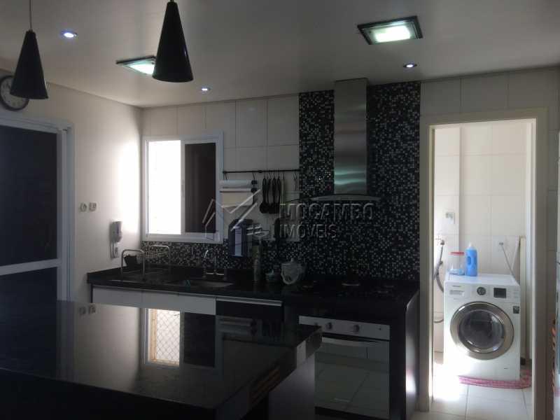 Cozinha - Apartamento Condomínio Edifício Panorama, Rua Augusto Cioffi,Itatiba, Centro, SP À Venda, 3 Quartos, 118m² - FCAP30448 - 6