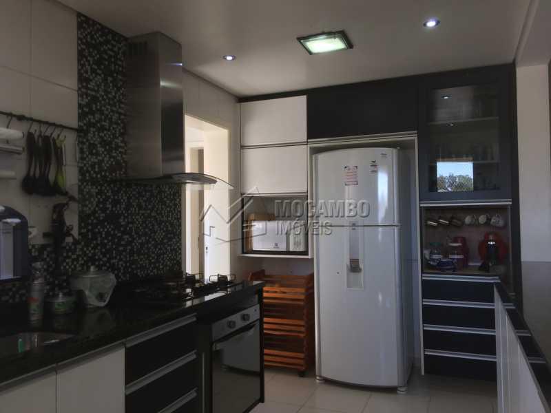 Cozinha - Apartamento Condomínio Edifício Panorama, Rua Augusto Cioffi,Itatiba, Centro, SP À Venda, 3 Quartos, 118m² - FCAP30448 - 7