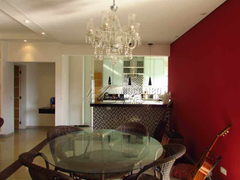 Sala de jantar - Casa em Condominio Para Venda ou Aluguel - Itatiba - SP - Residencial Fazenda Serrinha - FCCN30355 - 6