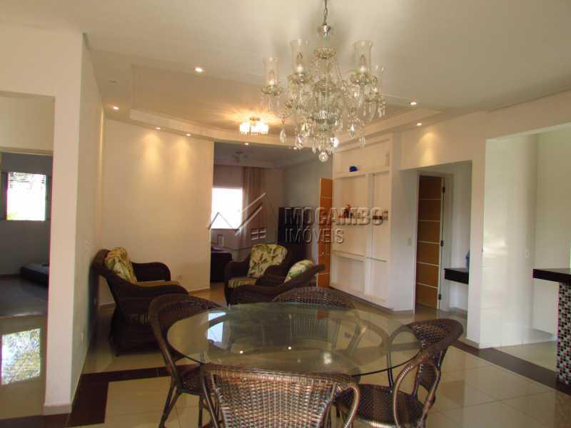 Sala de jantar - Casa em Condominio Para Venda ou Aluguel - Itatiba - SP - Residencial Fazenda Serrinha - FCCN30355 - 7