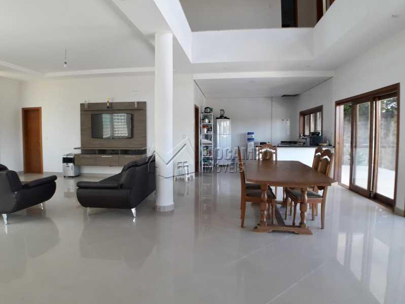 Salas Conjugadas - Casa em Condominio À Venda - Itatiba - SP - Real Parque Dom Pedro I - FCCN30356 - 15