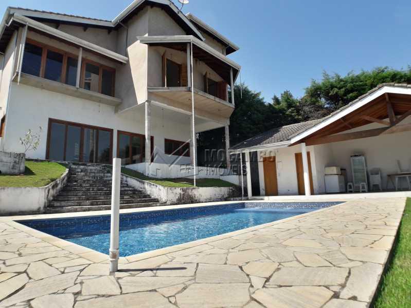 Fachada Externa - Casa em Condominio À Venda - Itatiba - SP - Real Parque Dom Pedro I - FCCN30356 - 1