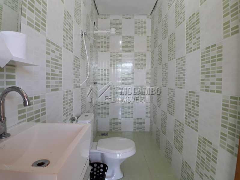 Banheiro Externo - Casa em Condominio À Venda - Itatiba - SP - Real Parque Dom Pedro I - FCCN30356 - 20