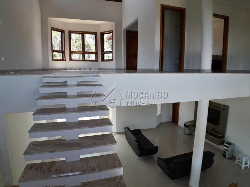 Acesso para as Salas - Casa em Condominio À Venda - Itatiba - SP - Real Parque Dom Pedro I - FCCN30356 - 12