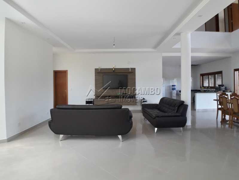 Sala de TV - Casa em Condominio À Venda - Itatiba - SP - Real Parque Dom Pedro I - FCCN30356 - 14