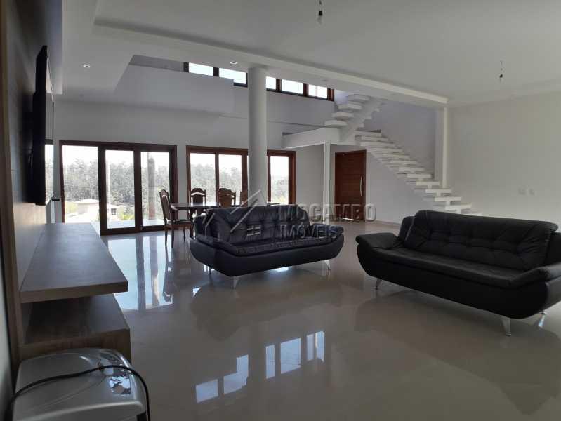 Sala de TV - Casa em Condominio À Venda - Itatiba - SP - Real Parque Dom Pedro I - FCCN30356 - 13