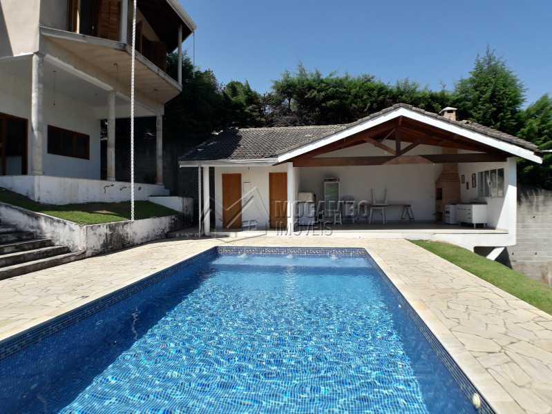 Piscina e Área Gourmet - Casa em Condominio À Venda - Itatiba - SP - Real Parque Dom Pedro I - FCCN30356 - 24