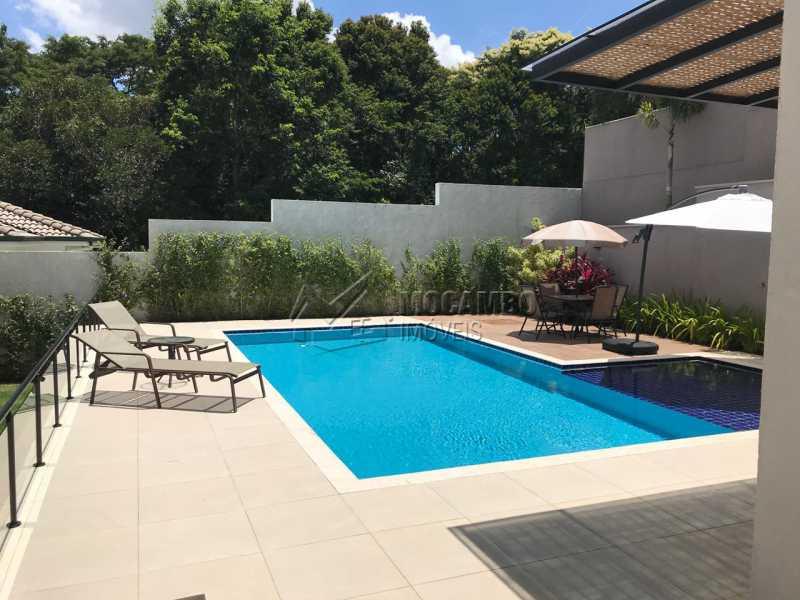 Piscina  - Casa em Condomínio 4 Quartos À Venda Itatiba,SP - R$ 1.700.000 - FCCN40118 - 7