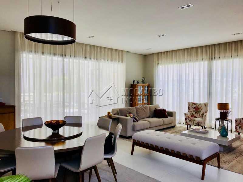 Sala  - Casa em Condomínio 4 Quartos À Venda Itatiba,SP - R$ 1.700.000 - FCCN40118 - 10