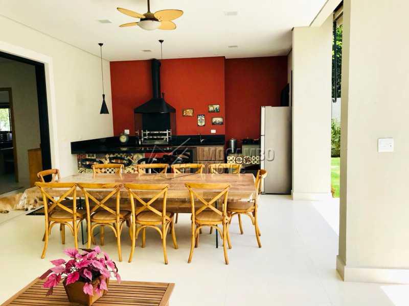 Área Gourmet  - Casa em Condomínio 4 Quartos À Venda Itatiba,SP - R$ 1.700.000 - FCCN40118 - 11