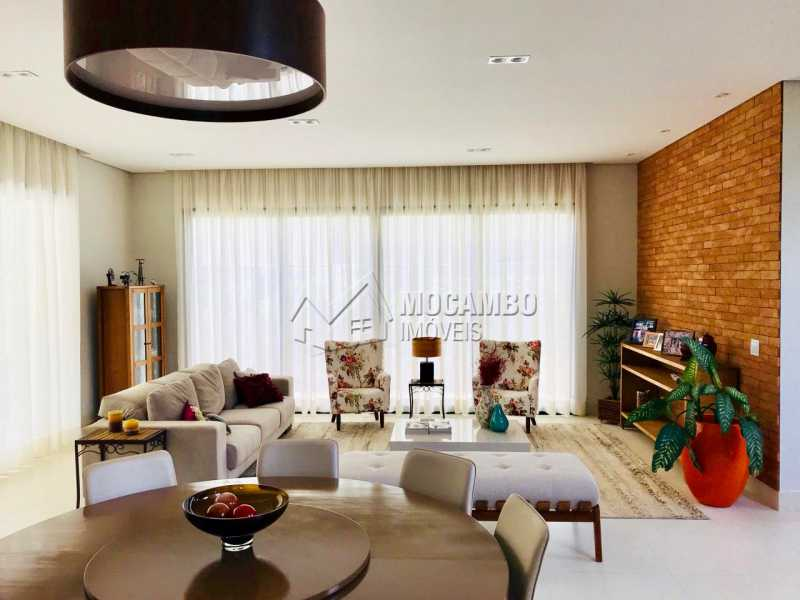 Sala  - Casa em Condomínio Villagio Paradiso, Itatiba, Bairro Itapema, SP À Venda, 4 Quartos, 404m² - FCCN40118 - 1