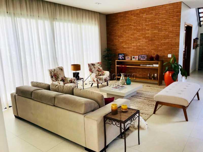 Sala  - Casa em Condomínio 4 Quartos À Venda Itatiba,SP - R$ 1.700.000 - FCCN40118 - 15