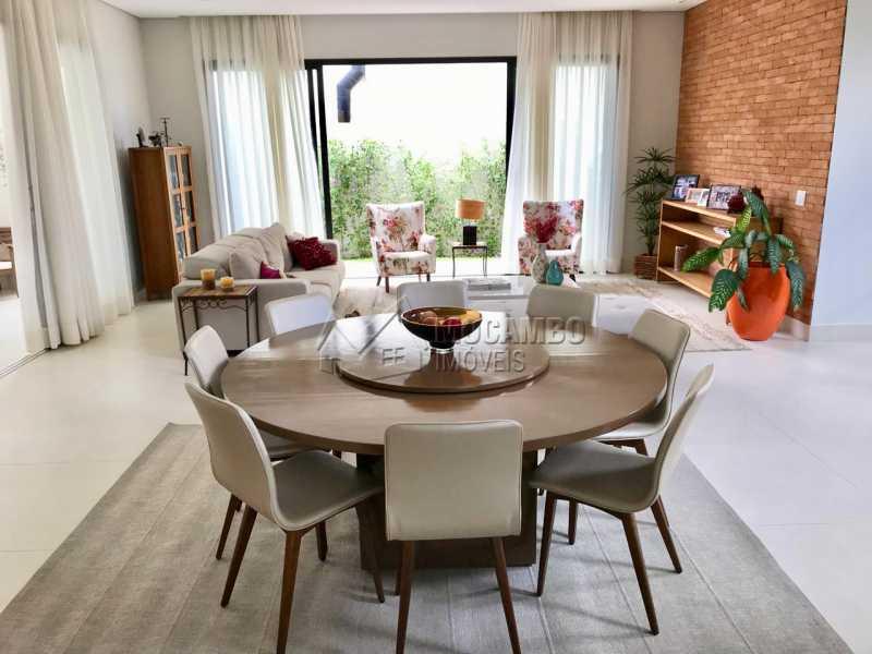 Sala  - Casa em Condomínio 4 Quartos À Venda Itatiba,SP - R$ 1.700.000 - FCCN40118 - 16