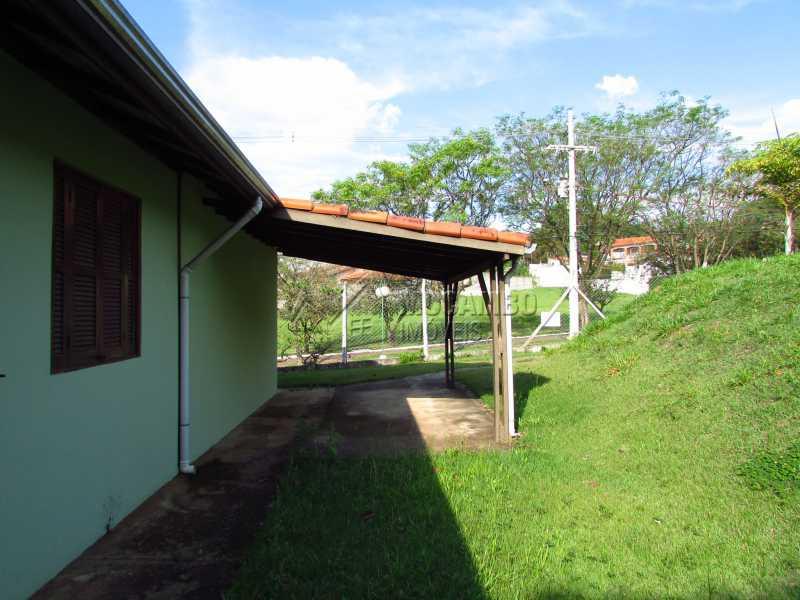 Garagem - Casa em Condominio Para Alugar - Itatiba - SP - Bairro Itapema - FCCN30357 - 10