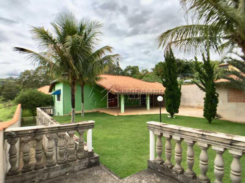 Área externa - Chácara À Venda - Itatiba - SP - Recanto da Paz - FCCH50009 - 1