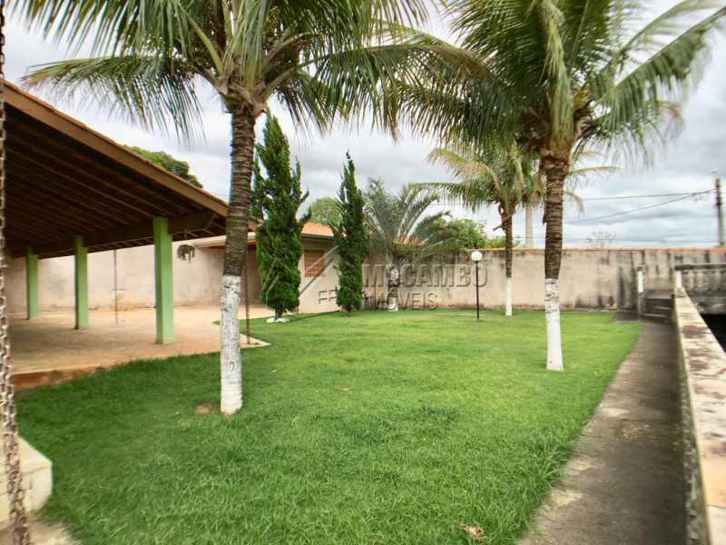 Quintal - Chácara À Venda - Itatiba - SP - Recanto da Paz - FCCH50009 - 4