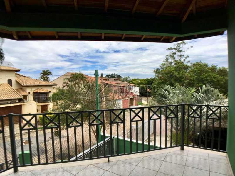 Varanda suíte  - Casa 3 quartos à venda Itatiba,SP - R$ 580.000 - FCCA31128 - 10