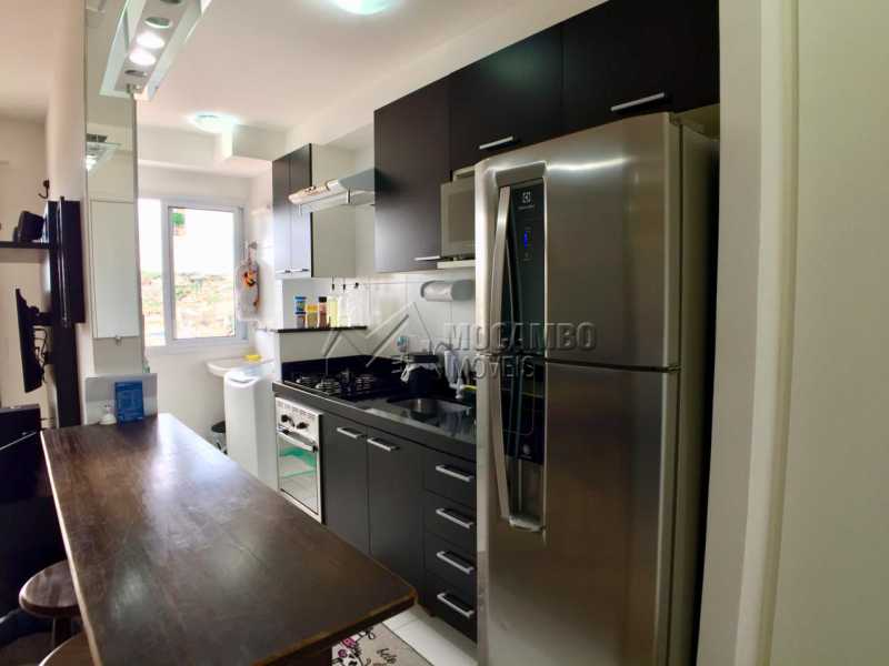 Cozinha  - Apartamento 2 quartos à venda Itatiba,SP - R$ 260.000 - FCAP20822 - 3