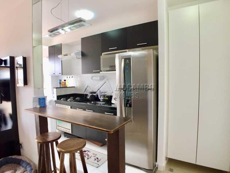 Cozinha  - Apartamento 2 quartos à venda Itatiba,SP - R$ 260.000 - FCAP20822 - 4