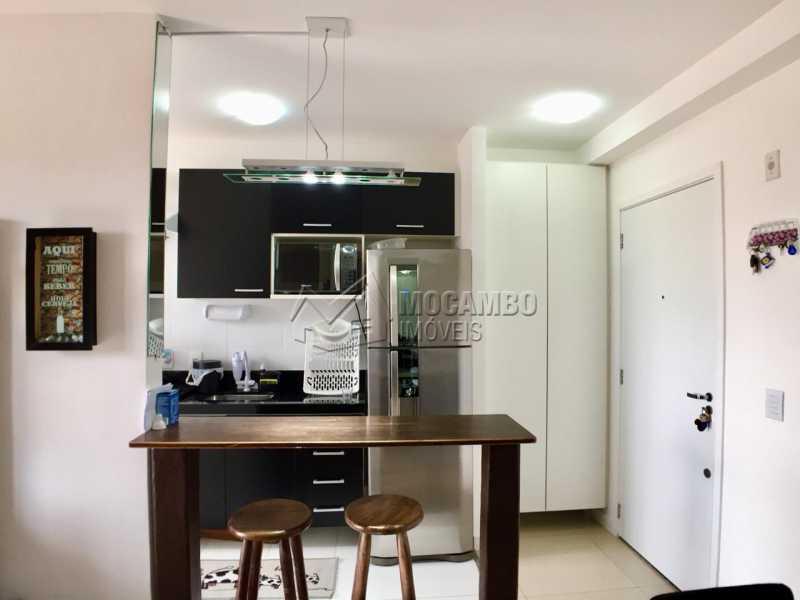 Cozinha   - Apartamento 2 quartos à venda Itatiba,SP - R$ 260.000 - FCAP20822 - 1