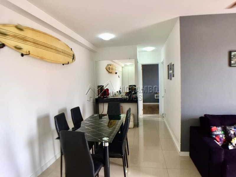 Sala de Jantar  - Apartamento 2 quartos à venda Itatiba,SP - R$ 260.000 - FCAP20822 - 5