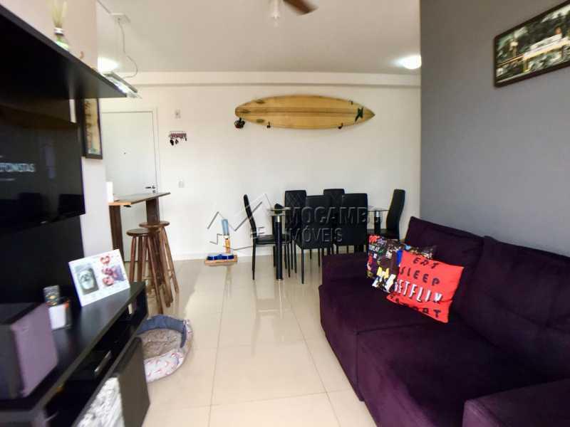 Sala de Estar  - Apartamento 2 quartos à venda Itatiba,SP - R$ 260.000 - FCAP20822 - 6