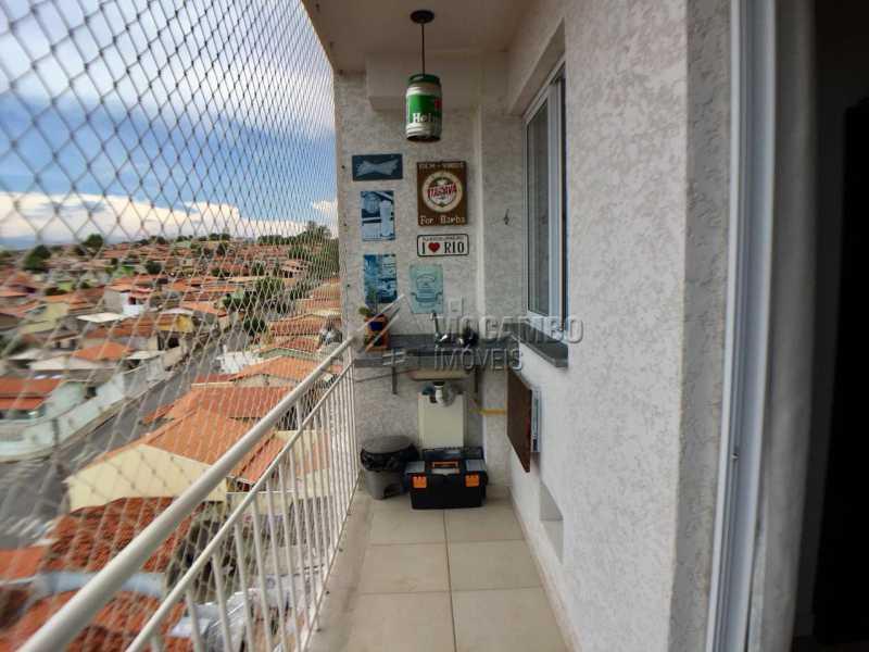 Varanda  - Apartamento 2 quartos à venda Itatiba,SP - R$ 260.000 - FCAP20822 - 8