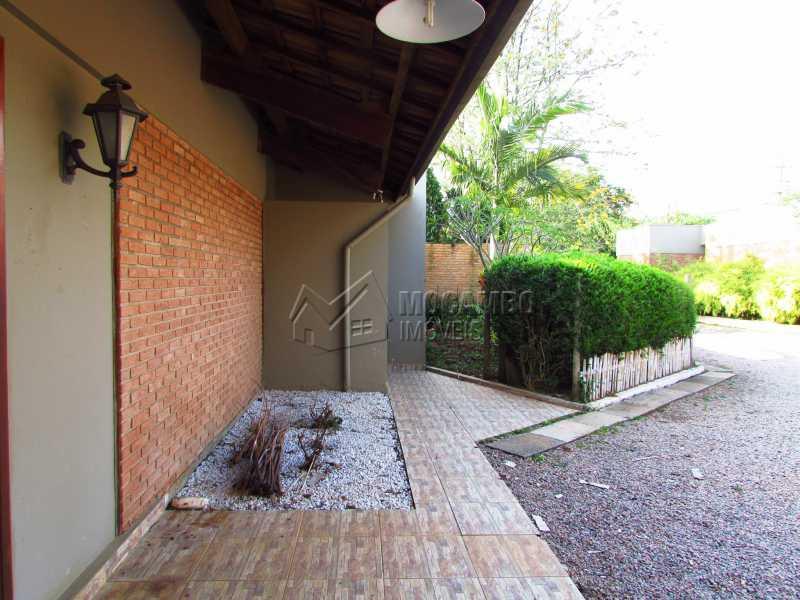 Entrada - Casa em Condomínio 3 Quartos Para Alugar Itatiba,SP - R$ 6.500 - FCCN30361 - 12