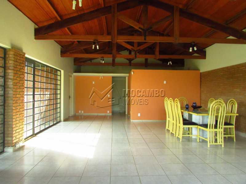 Sala - Casa Para Alugar no Condomínio Itaembú - Sítio da Moenda - Itatiba - SP - FCCN30361 - 4