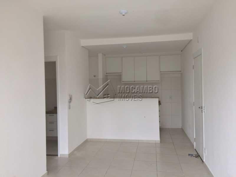 Sala/Cozinha - Apartamento À Venda no Condomínio Edifício Jardim Nice - Jardim Nice - Itatiba - SP - FCAP20824 - 6
