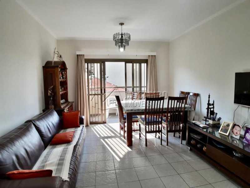 Sala - Apartamento Condomínio Edifício João Corradini, Itatiba, Centro, SP À Venda, 3 Quartos, 176m² - FCAP30452 - 5