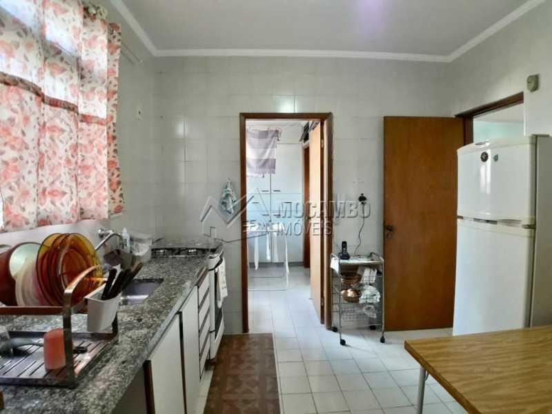 Cozinha - Apartamento Condomínio Edifício João Corradini, Itatiba, Centro, SP À Venda, 3 Quartos, 176m² - FCAP30452 - 3