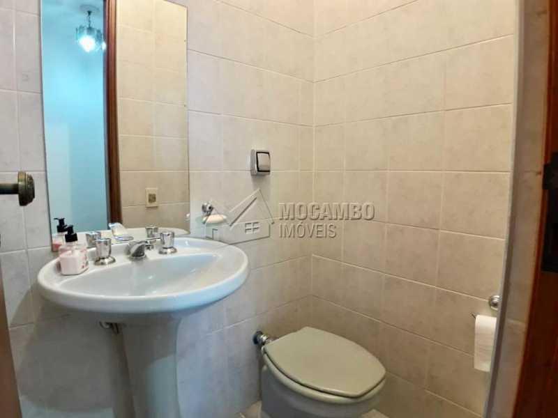 Banheiro social - Apartamento Condomínio Edifício João Corradini, Itatiba, Centro, SP À Venda, 3 Quartos, 176m² - FCAP30452 - 6