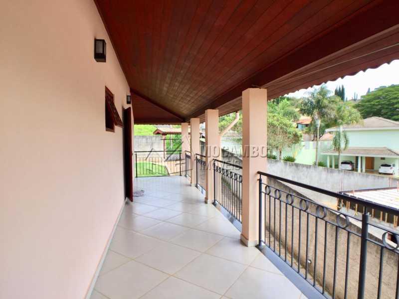 Varanda  - Chácara 1000m² à venda Itatiba,SP - R$ 670.000 - FCCH30106 - 7