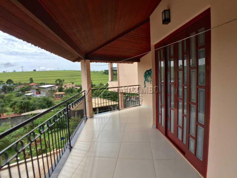 Varanda  - Chácara 1000m² à venda Itatiba,SP - R$ 670.000 - FCCH30106 - 9